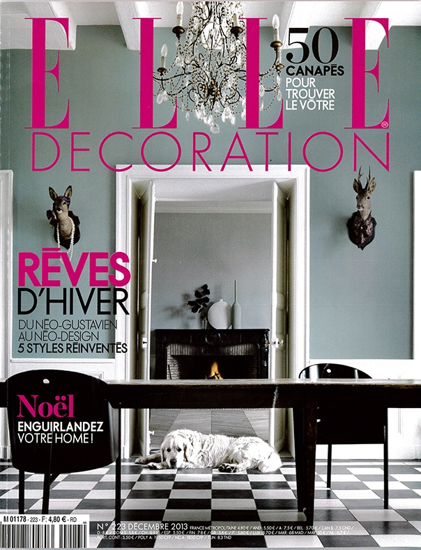 Elle Decoration, Francia - Dicembre 2013