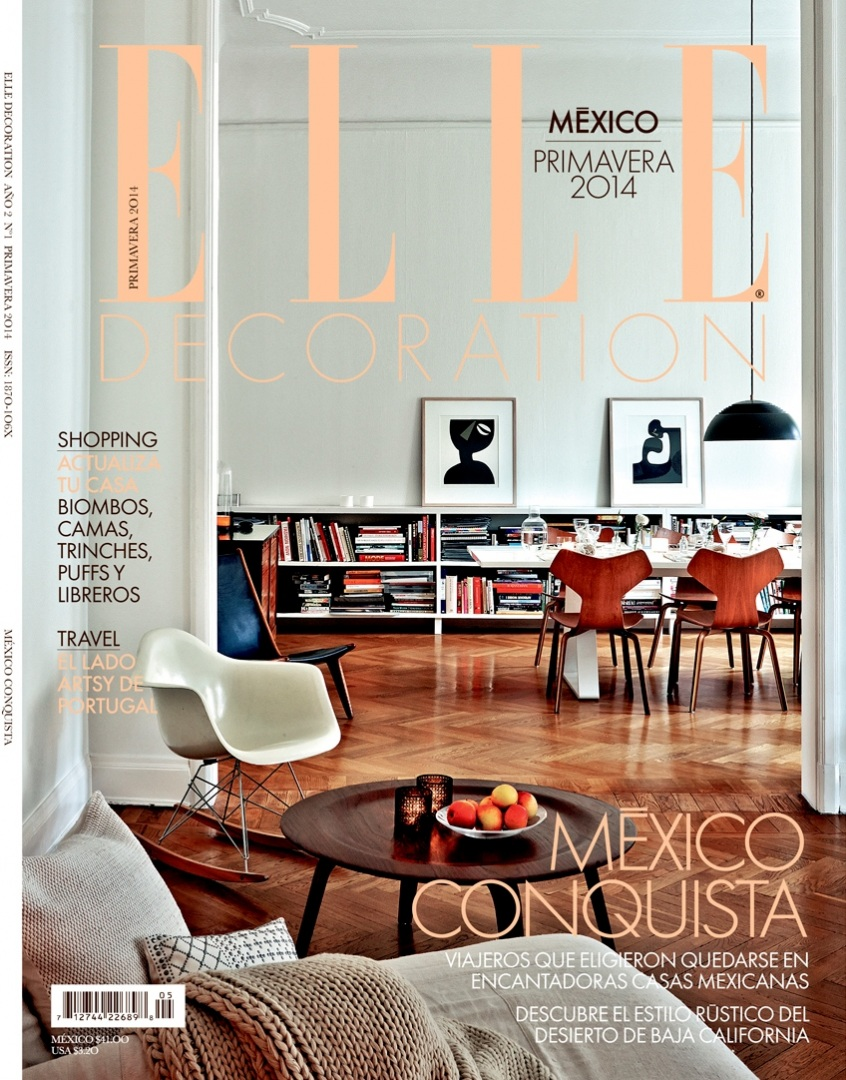 Elle Decoration, Messico - Marzo 2014