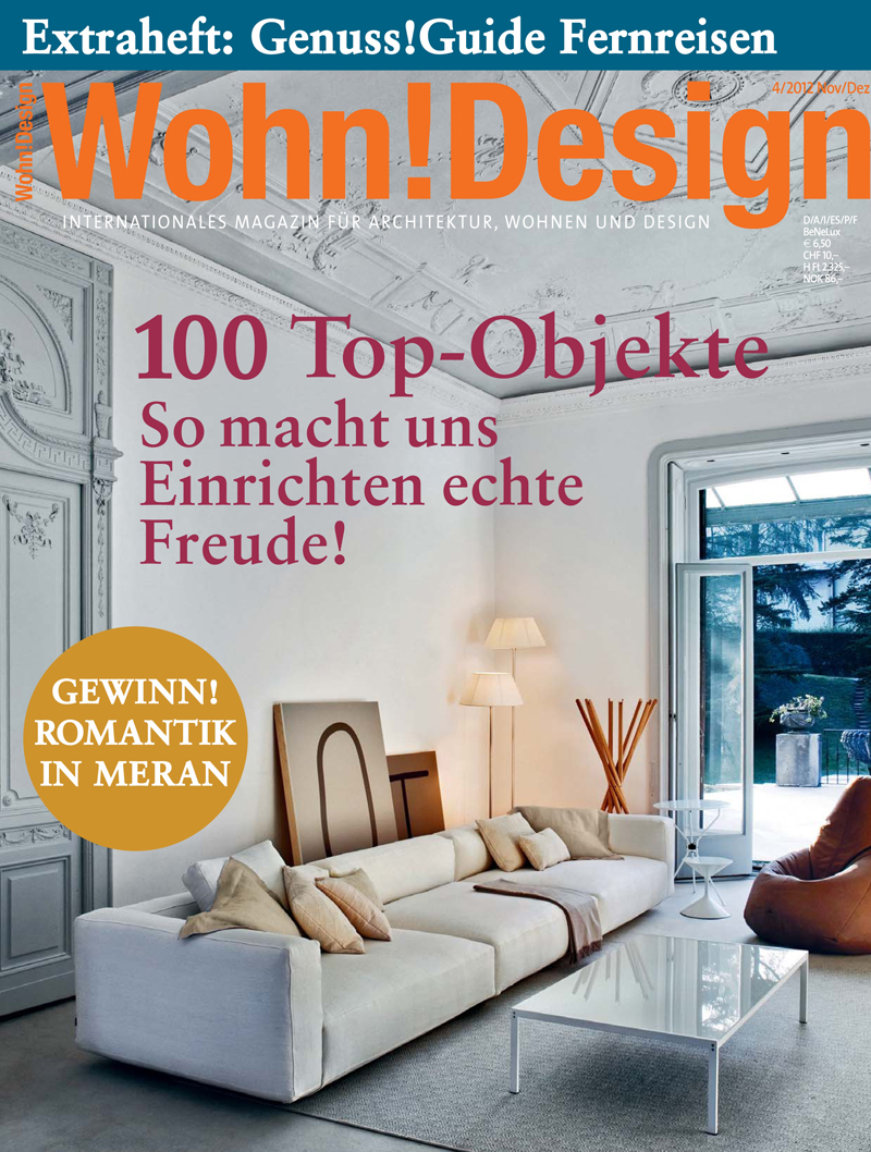 Wohn! Design, Germania - Dicembre 2012